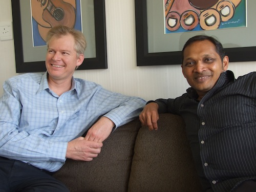 John Campbell and Herman Singh