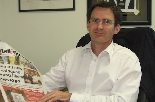 Mail & Guardian editor Nic Dawes