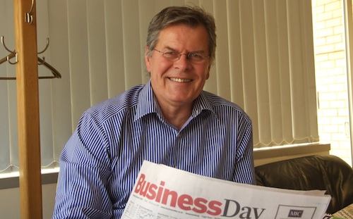 Business Day editor Peter Bruce