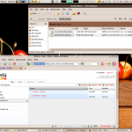 Ubuntu One is a simple set of cloud storage services. It is well integrated with the file browser on your own machine, or can be accessed via a Web browser from anywhere else