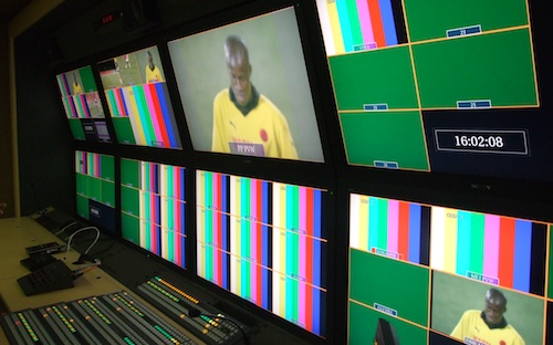 Inside one of the SABC's new high-definition outside broadcast vans
