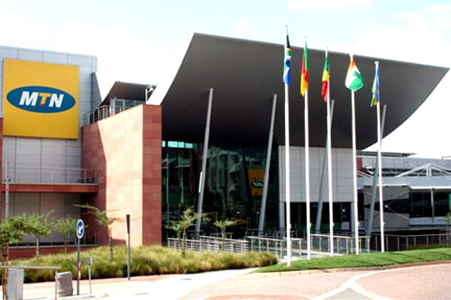 MTN head office in Johannesburg