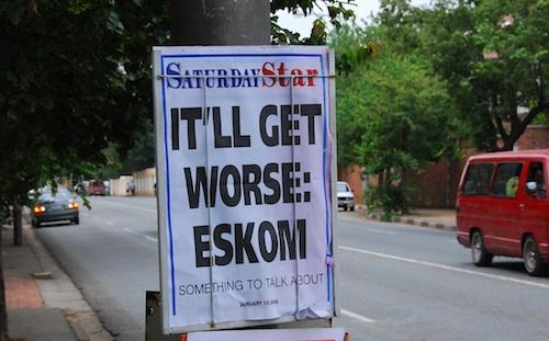Eskom poster