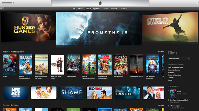 Good deals on itunes movies
