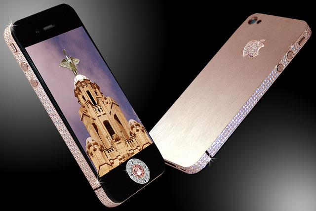 The Stuart Hughes iPhone 4 Diamond Rose ... a steal at just $8m