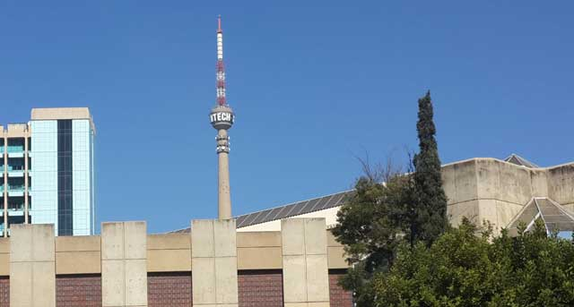 The SABC's broadcasting studios in Auckland Park