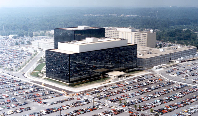The NSA's headquarters in Fort Meade, Maryland, USA