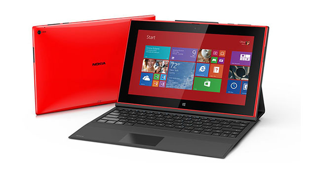 The new Lumia 2520 Windows RT tablet