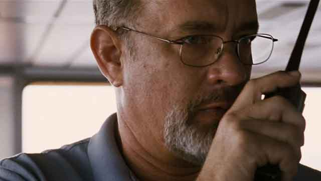 Tom Hanks takes the lead role in Paul Greengrass's true-life suspense film Captain Phillips