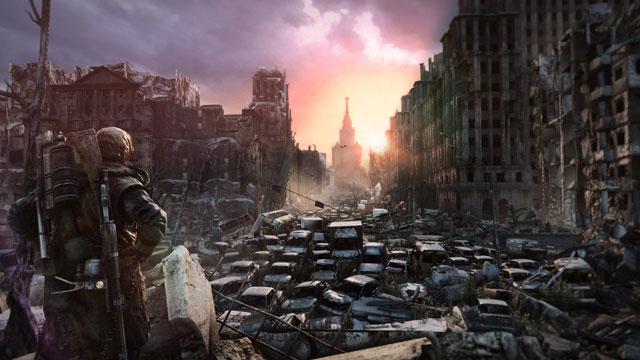 Up and Artyom: Metro: Last Light