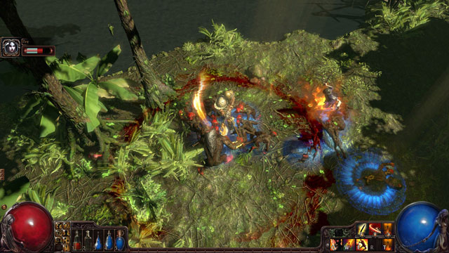 An initially rote Diablo clone widens into a rich and complex action roleplaying game in Path of Exile