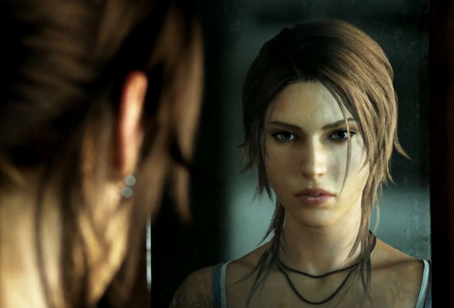 It's Lara, but not as you know her