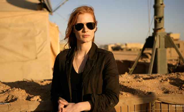 Obsessed: Jessica Chastain in Zero Dark Thirty