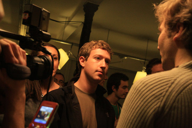 Mark Zuckerberg of Facebook - image Ludovic Toinel