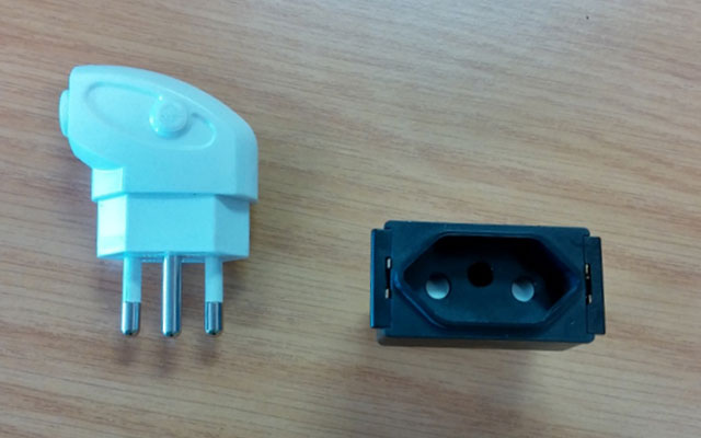 SANS 164-2 plug and socket