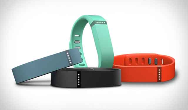 Devices like the Fitbit Flex let people track their health