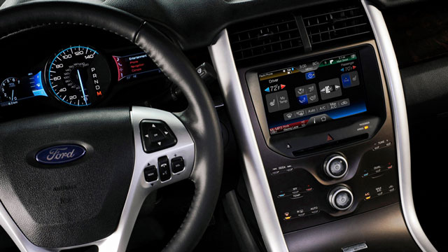 Ford's Sync technology can be controlled by voice