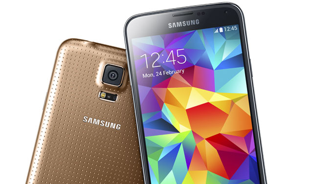 Samsung's new flagship ... the Galaxy S5