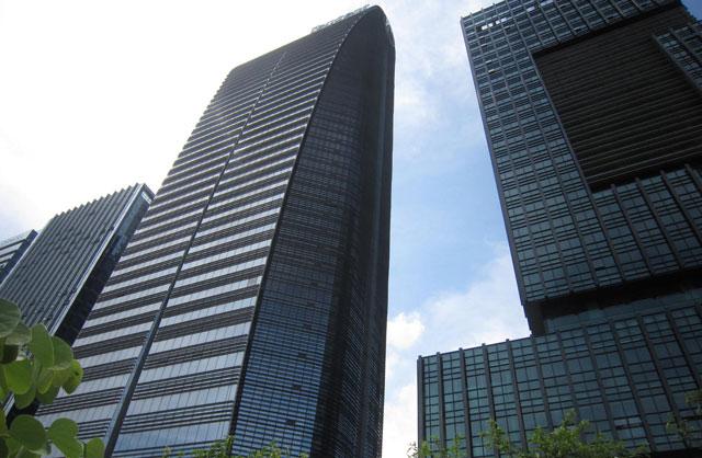Tencent's headquarters in Shenzhen, China (image: Dmitry Lysenko)