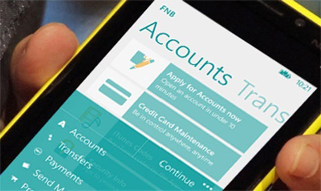 FNB redesigns banking app - TechCentral