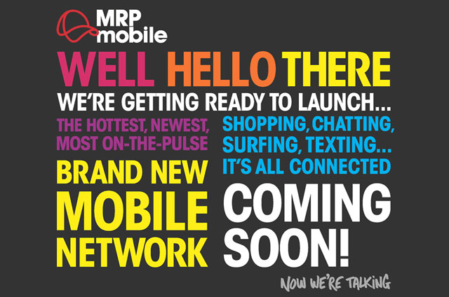 Visitors to the MRP Mobile website are greeted with this placeholder