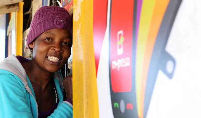 There has been little consumer demand in South Africa for M-Pesa