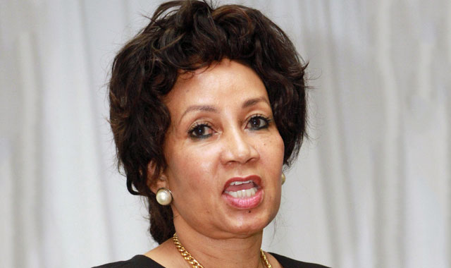 Former public service and administration minister Lindiwe Sisulu