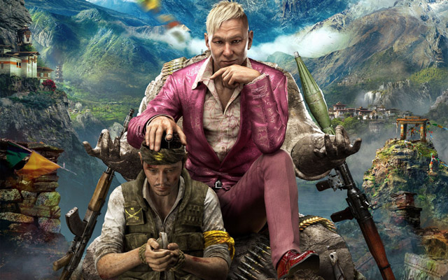 The Himalayas are the new playground for Far Cry 4