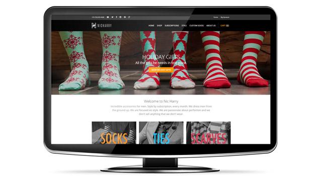The Nic Harry website