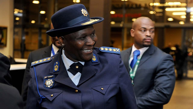 National police commissioner Riah Phiyega