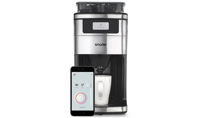 The Smarter WiFi Coffee Machine, announced at CES, will allow you to start the brewing process from your phone