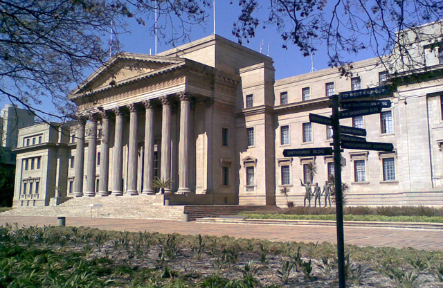 Wits University in Johannesburg