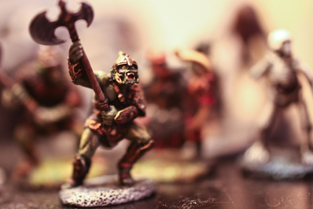 A miniature orc from the popular role-playing game Dungeons & Dragons. Bart Heird/Flickr, CC BY-NC-ND
