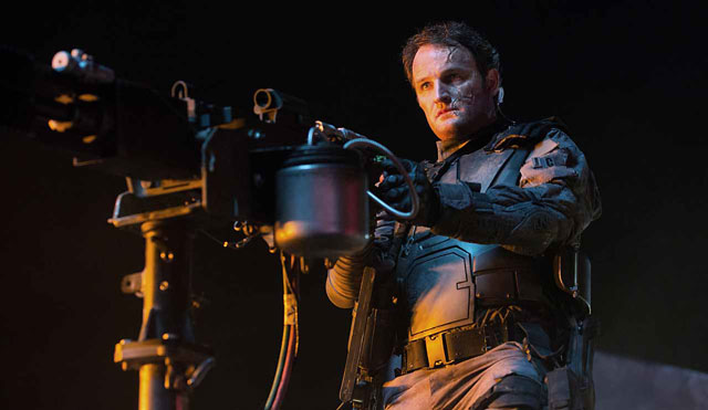 Jason Clarke as humanity's saviour, John Connor
