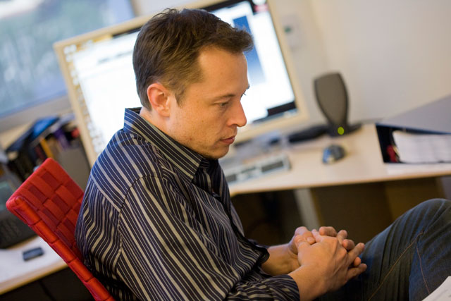 Elon Musk (photo by OnInnovation)