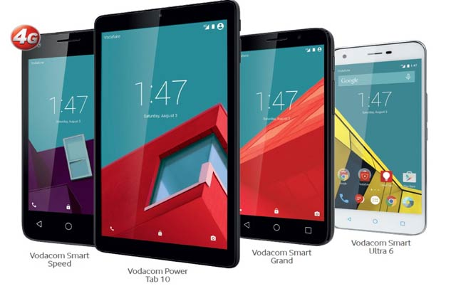 Vodacom's new own-branded devices