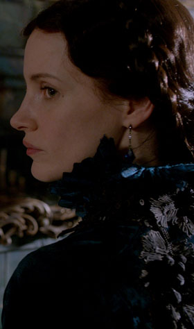 Jessica Chastain goes full goth in Crimson Peak