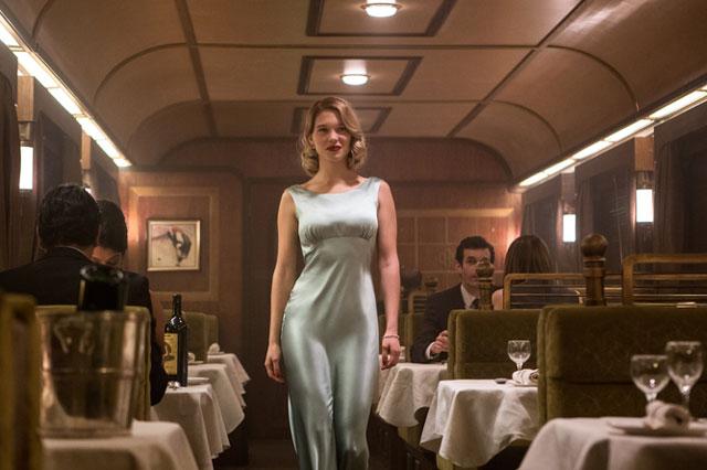 Lea Seydoux as Spectre's second Bond girl