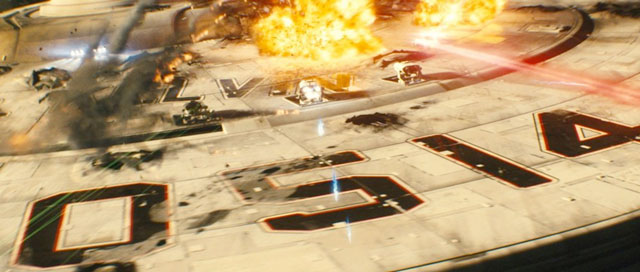 There were plenty of explosions in JJ Abrams' 2009 Star Trek reboot © Paramount