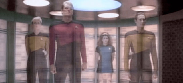 Star Trek transporter © NBC