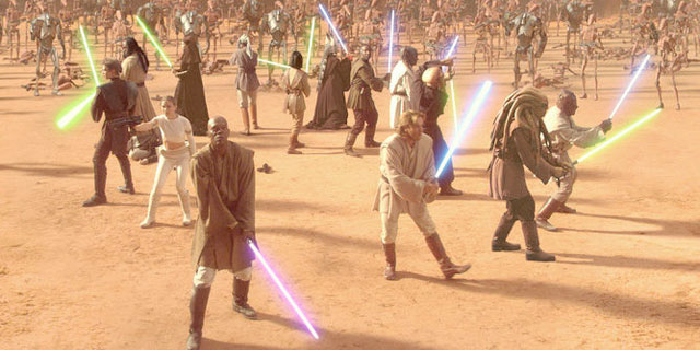 Star Wars Episode II: Attack of the Clones. © Lucasfilm
