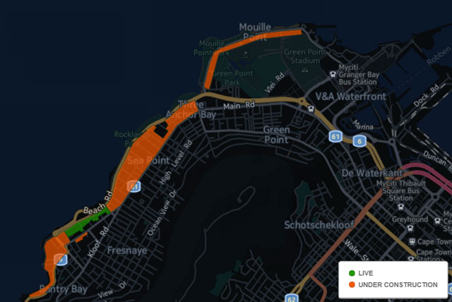 Octotel's coverage map as of 14 March 2016