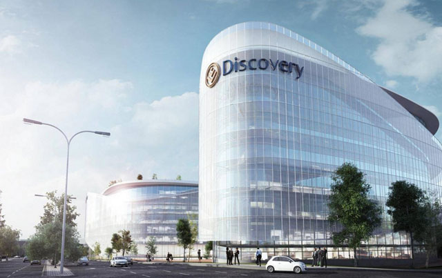 Artist's impression of Discovery's new head office in Sandton, Johannesburg