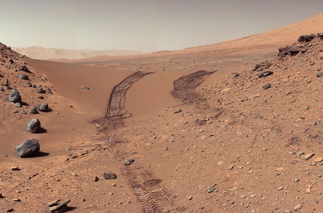 We will soon get to hear the winds on Mars. NASA/JPL-Caltech/MSSS