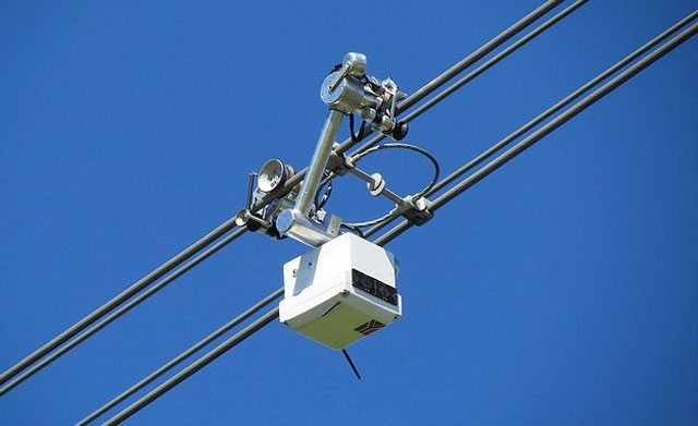 The drone features a series of cameras to inspect power lines (image c/o Fin24)