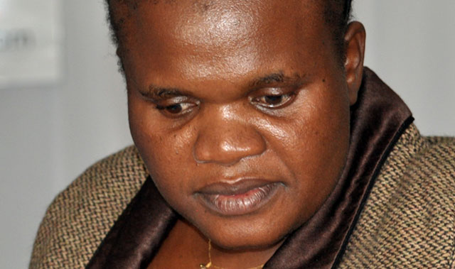 Communications minister Faith Muthambi