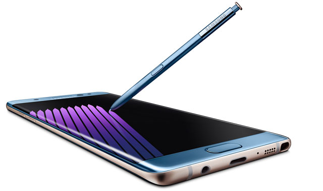 The now-discontinued Galaxy Note7