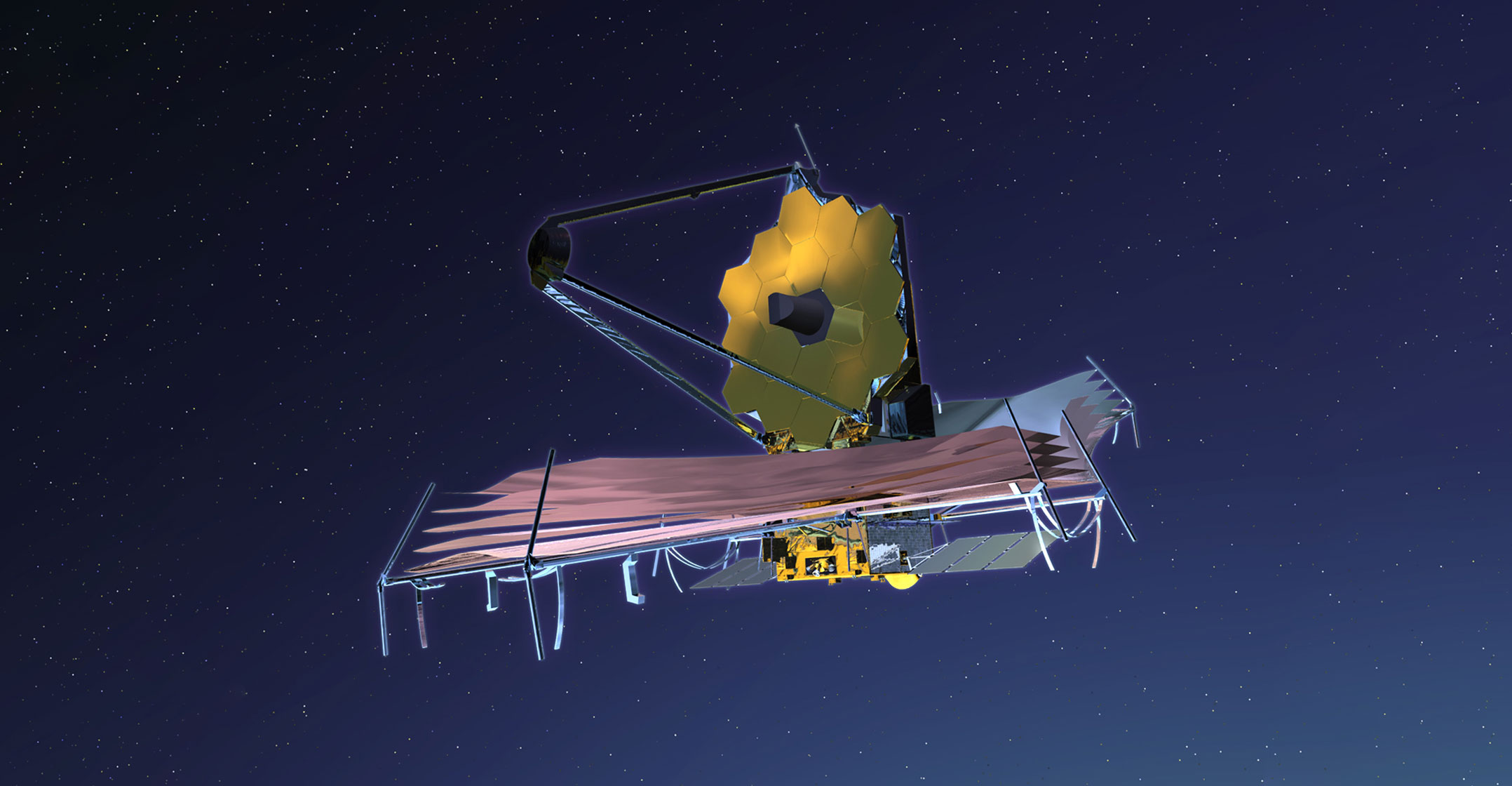Artist's conception of the James Webb Space Telescope. Image c  o Nasa