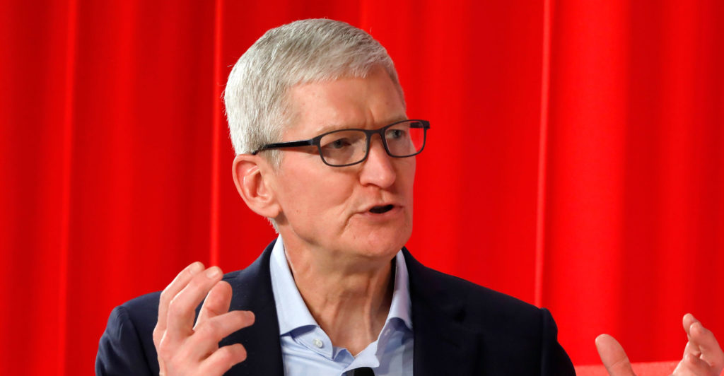 Tim Cook Renews Call For Tech To Be Regulated Techcentral