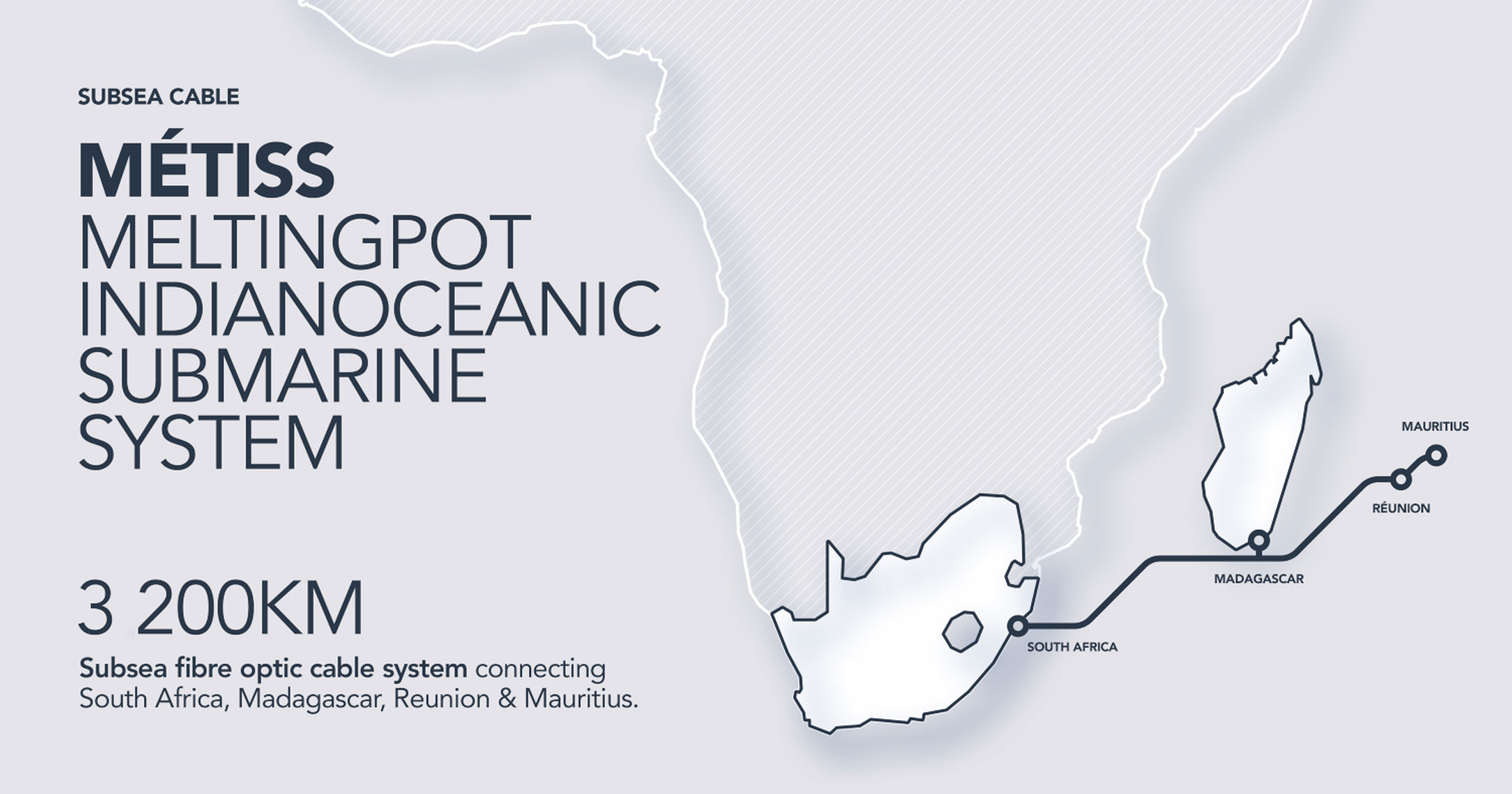 Teraco boosts regional interconnection with Métiss cable - TechCentral